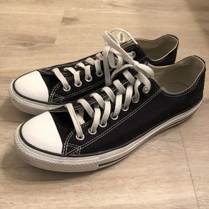 Converse All Stars Low Top Black/White 9.5M